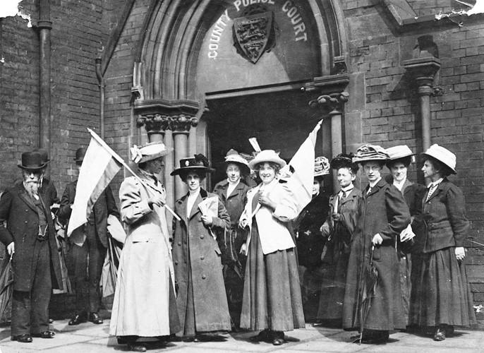 Phong trào đòi quyền bầu cử của phụ nữ Anh giành thắng lợi lịch sử vào ngày 6.2.1918