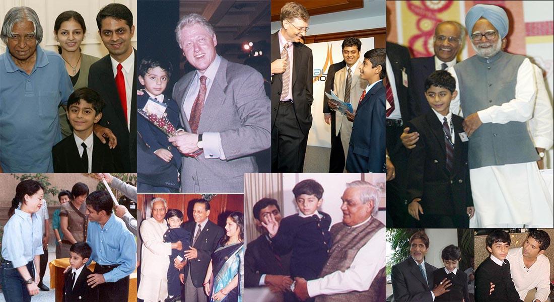 Ajay được vinh dự gặp Thủ tướng Ấn Độ, Sri Atal Bihari Vajpayee ji tại Delhi