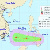 Áp thấp nhiệt đới di chuyển nhanh về Biển Đông, miền Bắc trời rét