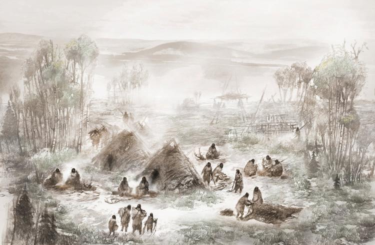 Bộ xương 11.500 tuổi của bé gái sơ sinh được tìm thấy tại khu vực này.