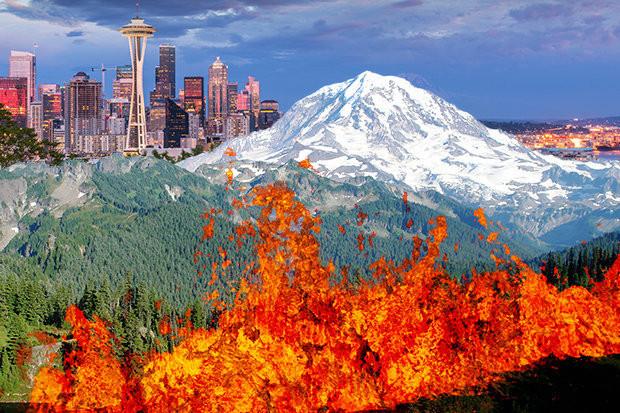 Nếu núi Rainier gây sạt lở một dòng lahar lớn, hàng chục ngàn người sẽ nằm trong dòng chảy của nó.