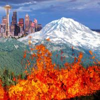 Núi lửa cao nhất Washington và nguy cơ san phẳng thành phố Mỹ