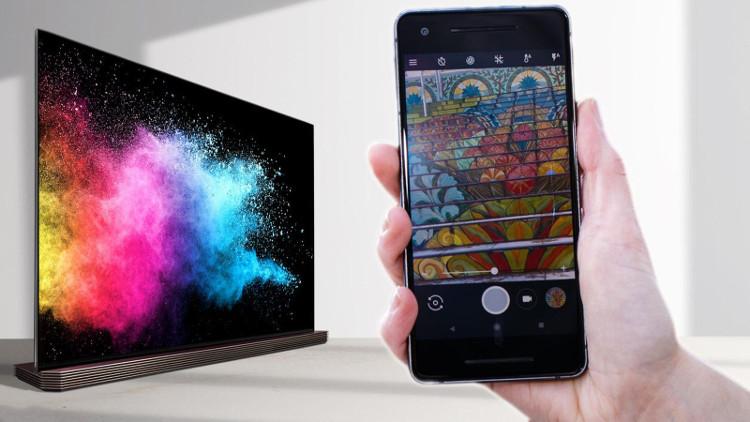 OLED sở hữu màu đen sâu hơn, cung cấp hình ảnh vượt trội hơn.