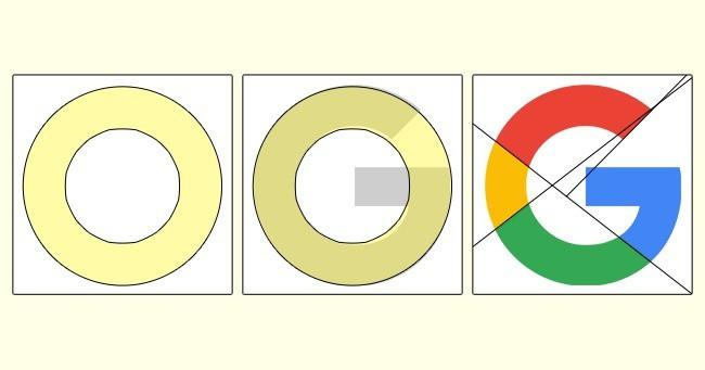 Sự thật là logo ấy thậm chí chẳng có nổi một hình tròn hoàn thiện.