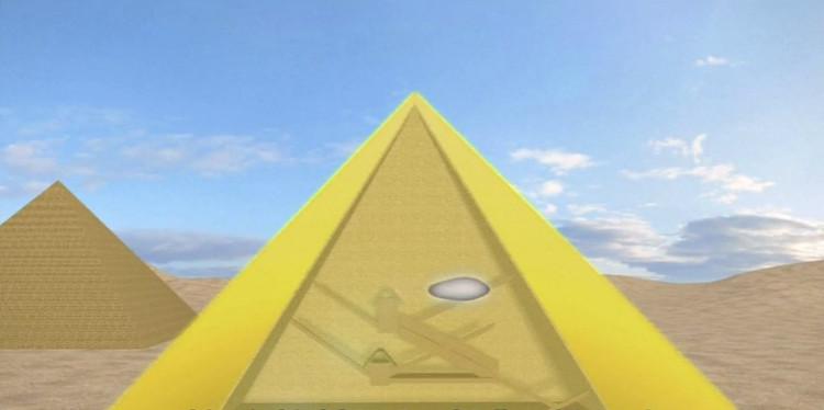 Phòng dài 30m có thể chứa cả máy bay được phát hiện trong Đại kim tự tháp Giza ở Ai Cập.