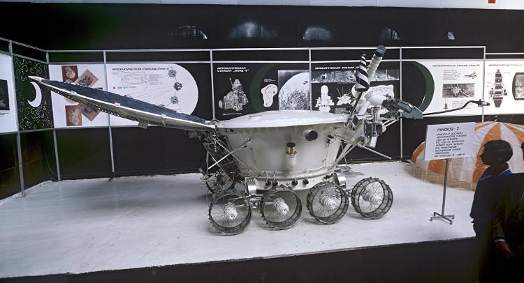 Thiết bị thăm dò Mặt Trăng Lunokhod-2 của Liên Xô.