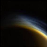 """Ngắm """"hoàng hôn sương mù"""" trên mặt trăng của sao Thổ"""