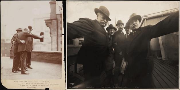 Bức ảnh nhóm tự sướng (group selfie) đầu tiên.