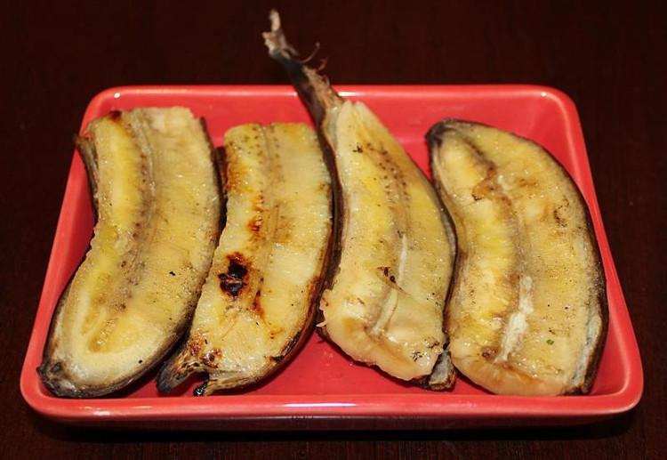 Chuối Mongee ăn ngon nhất khi đạt tới độ chín nhất định.