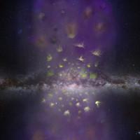 Vì sao có nhiều đám mây khí di cư khỏi Milky Way?