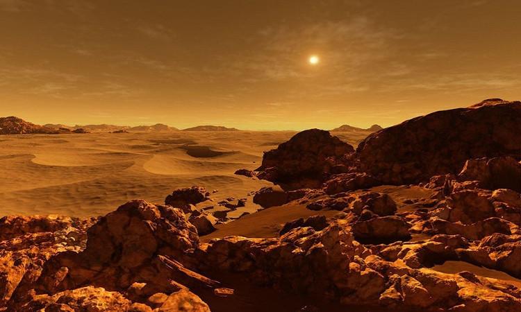 Mặt Trời nằm cách sao Hỏa