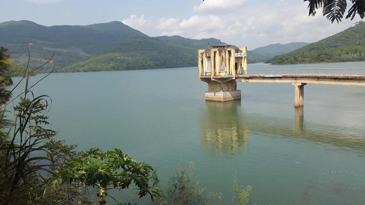 Hồ Yên Lập trữ lượng 130 triệu m3 nước.