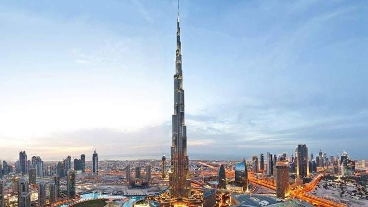 Tòa nhà Burj Khalifa.