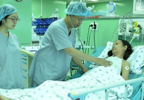 Bệnh nhân được thay van động mạch chủ bằng vật liệu tự thân tại Bệnh viện Đại học Y Dược TP HCM.