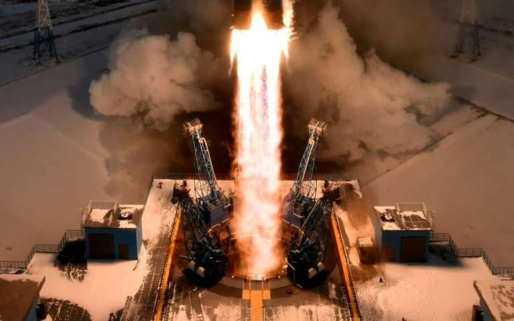 Đây là lần thứ 3 Nga phóng vệ tinh từ sân bay vũ trụ mới này