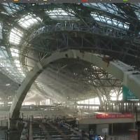 Video: Công trường sân bay như đại phi thuyền vũ trụ của Trung Quốc