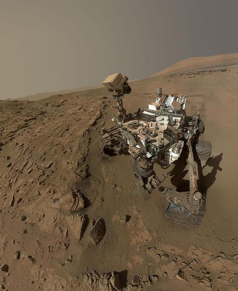 Curiosity đã sống ở sao Hỏa được 6 năm