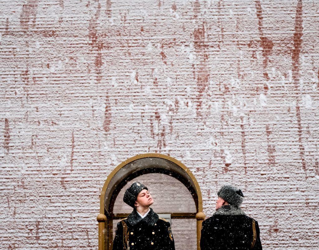 Chiếc mũ ushanka đặc trưng của mùa đông nước Nga