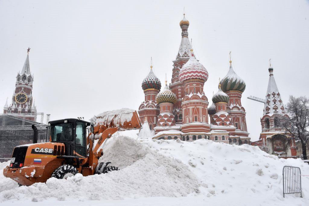 Thời tiết Moscow hồi tháng 12/2017 cũng vừa phá một kỷ lục khác khi trở thành tháng có ít ánh sáng nhất.