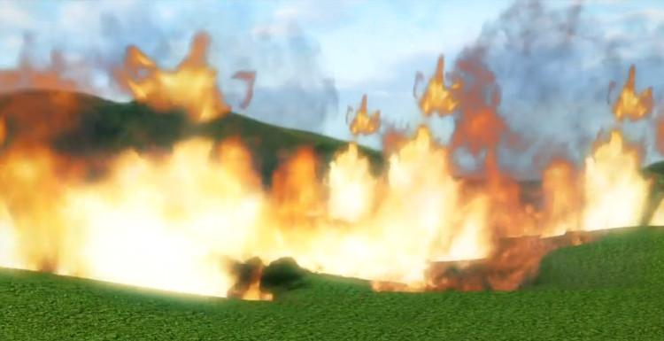 Dấu vết hóa học chỉ ra, 10% bề mặt đất từng bị lửa thiêu rụi.