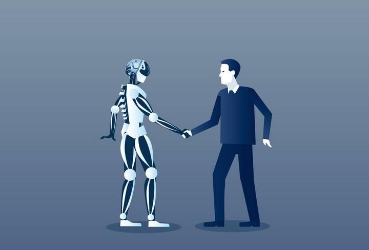 AI và con người hoàn toàn có thể làm bạn, thậm chí kết hợp cùng với nhau để tiến hóa thành một thực thể mới.