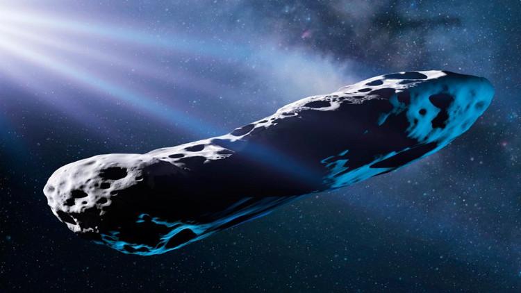 Tiểu hành tinh Oumuamua