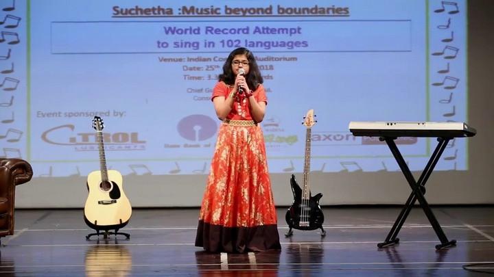 Satish có nội lực trong giọng hát rất khỏe.