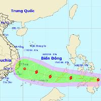 Bão Sanba đổ bộ Philippines, khả năng suy yếu trên biển Đông