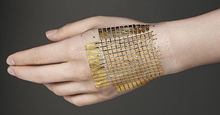 Loại e-skin này còn có khả năng tự phục hồi nếu bị xé nhỏ ra thành nhiều mảnh.