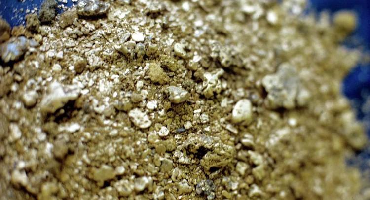 Có khoảng 87 tấn vàng và 787 tấn bạc ở khu mỏ này.