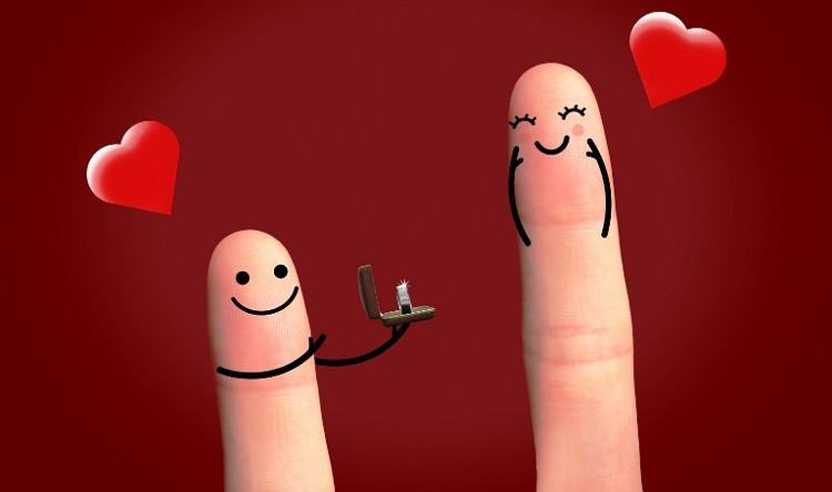 Cưới nhau kỷ niệm mỗi năm vào ngày Valentine nghe có vẻ còn lãng mạn đẳng cấp hơn.