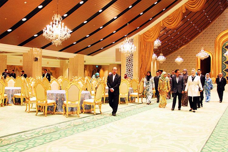 Kiến trúc đậm chất Brunei.