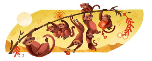 Năm 2016, Google đã có sáng tạo nhất định, tuy vẫn là linh vật nhưng đẹp hơn nhiều