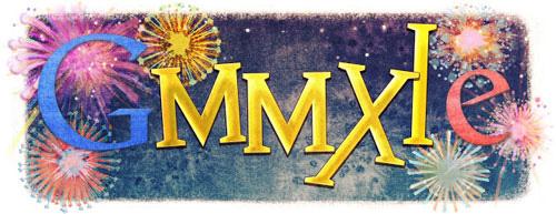 Với châu Âu, Google sử dụng cho mình số La Mã 'MMXI' khá sáng tạo