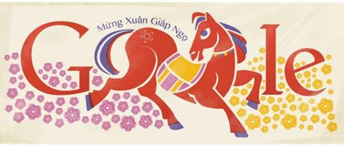 Năm 2014, Google đã làm riêng doodle dành cho Việt Nam