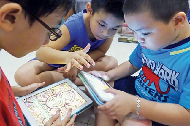 """Máy có thể tự động khóa những ứng dụng """"cấm trẻ em chưa đủ tuổi"""""""