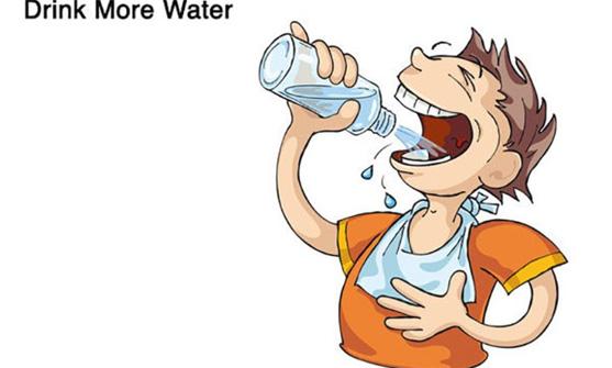 Uống thêm nước