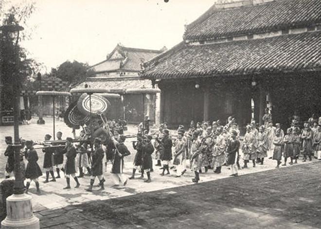 Nghi lễ đón tết trong cung Nguyễn