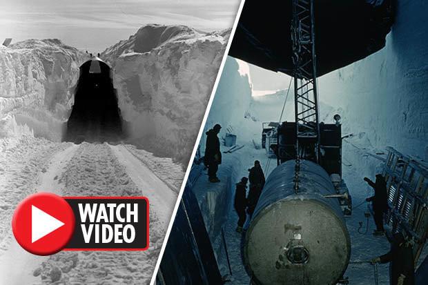 Cổng vào căn cứ tên lửa hạt nhân tối mật của Mỹ thời Chiến tranh Lạnh.
