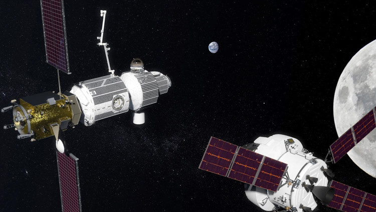 Con người sẽ xây dựng một trạm vũ trụ ngay gần Mặt trăng.