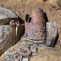 Tìm thấy hầm mộ 1.500 năm tuổi của tướng Nhật Bản