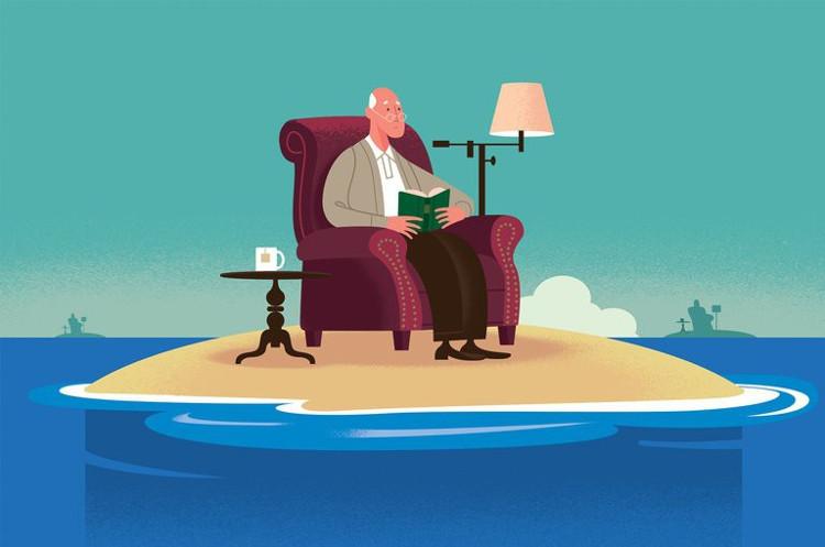 Với người già, cảm giác cô đơn đặc biệt có hại.