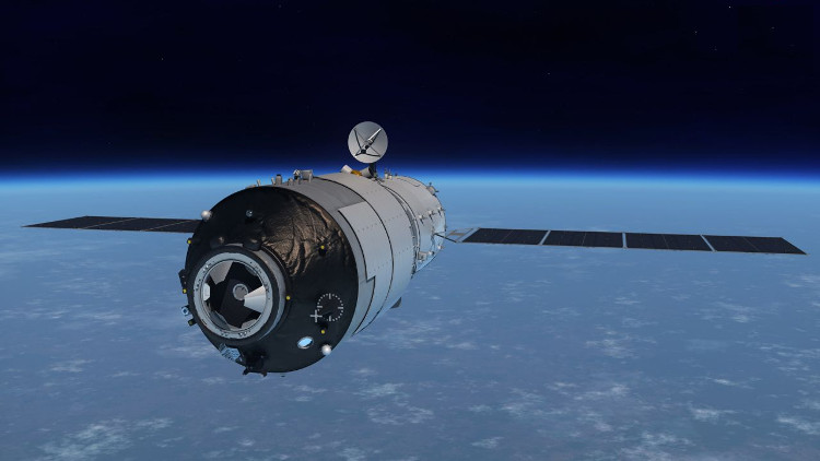 Trạm vũ trụ Thiên Cung 1 được dự đoán rơi xuống Trái đất trong năm nay.