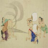 Ẩn ý bên trong bức tranh 200 năm tuổi của Nhật Bản