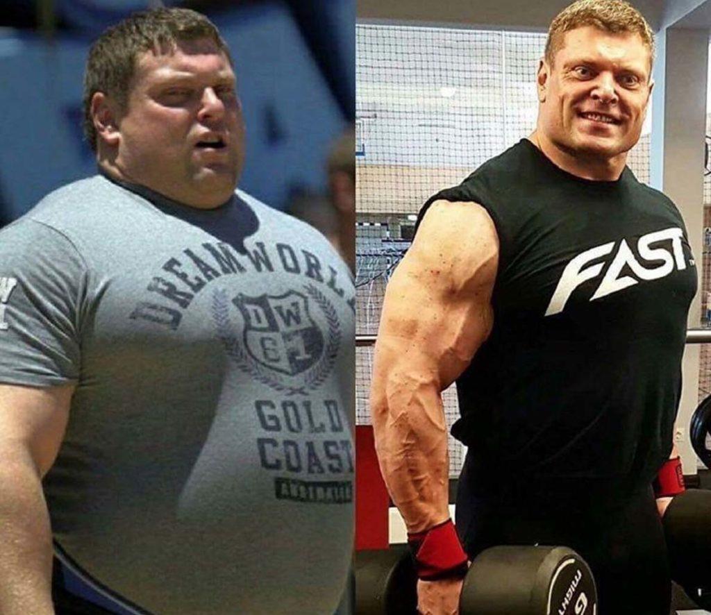 Bạn có thấy được sự thay đổi hoàn toàn của anh ấy nhờ luyện tập?