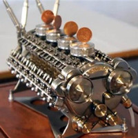 Động cơ W32 nhỏ nhất thế giới - tuyệt phẩm cơ khí