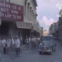 Video: Thước phim hiếm về đường phố Hà Nội 50 năm trước