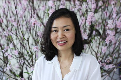 Bác sĩ Trần Vân Khánh, một trong hai nữ khoa học gia nhận giải thưởng Kovalevskaia năm 2017.