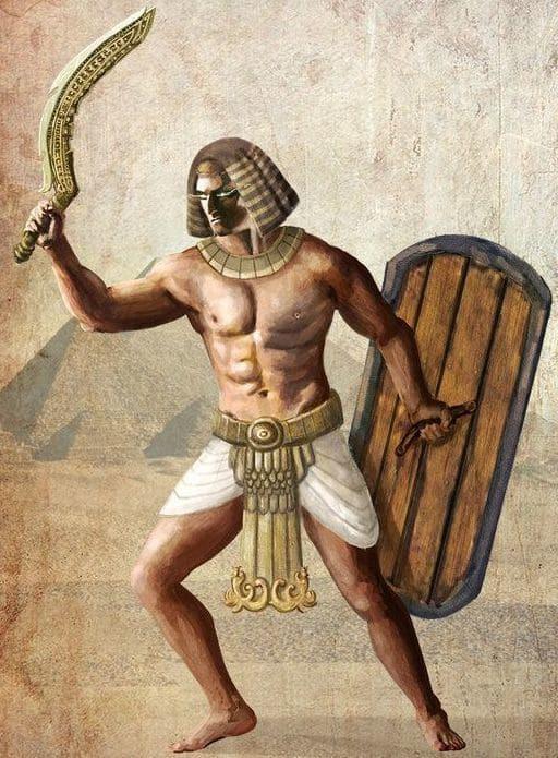 Lưỡi cong của kiếm còn giúp cho chiến binh dễ dàng ứng phó với kẻ địch từ nhiều phía hơn.