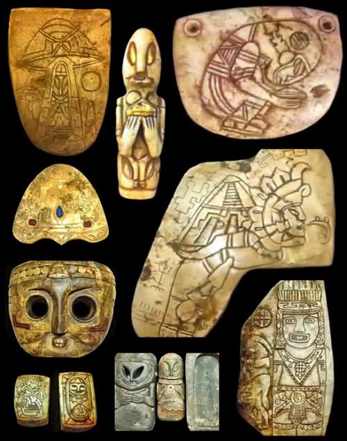 Bộ hiện vật đầu tiên của người Maya.